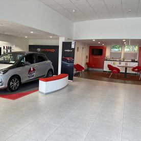 New Customer Hospitality Area, John Kennedy Motor's, Clonmel